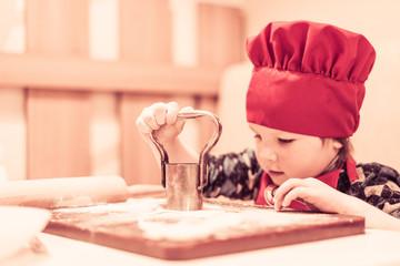 little kitchen boy