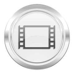 movie metallic icon