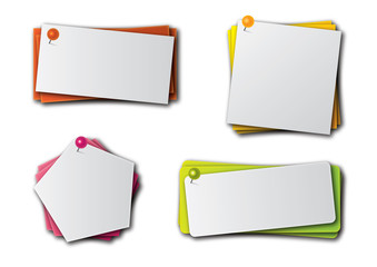 paper note banner tag