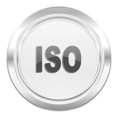 iso metallic icon