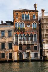 Edifici su Canal Grande, Venezia, Veneto, Italia