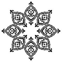 artistic ottoman pattern series thirteen