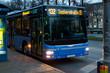 Leinwanddruck Bild - Linienbus