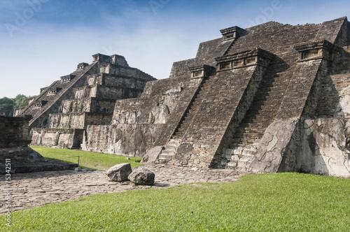 Archaeological site of El Tajin, Veracruz (Mexico)