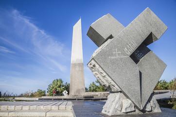 Denkmal auf der großen Düne