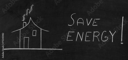 Save energy - 75343182