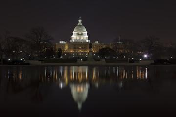 Washington DC , Capitol Building night wiev