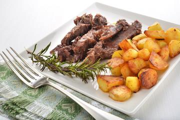 carne e patate arroste