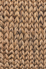Old Raffia Place Mat Extra Rough Grunge Texture