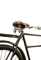 Isolated Vintage Bike
