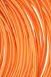 canvas print picture - Orange multimode fiber optical cables