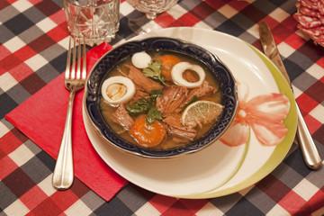 Traditional Ukrainian Christmas dishes