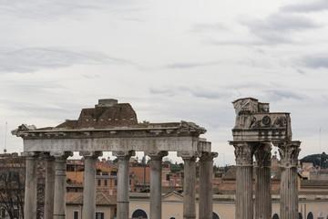 Rovine dei Fori Impreriali - Roma