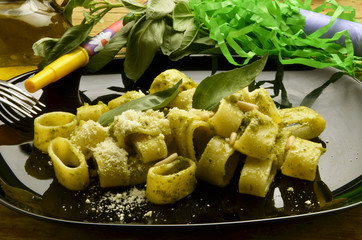 Pesto genovese Cucina italiana Italienische Küche Expo 2015