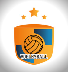 Sport design over white background vector illustration