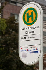 Haltestelle Strassenbahn Merseburg