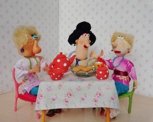 Puppets friends