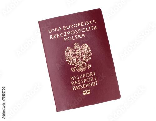 Polish passport - 75352700