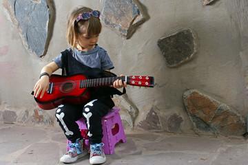 Gitarristin Gitarrenunterricht