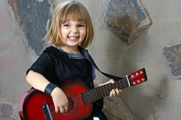 Gitarristin Musikschule