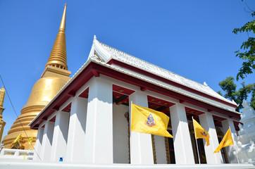 Wat Bowonniwet Vihara, or Wat Bowon at Bangkok Thailand