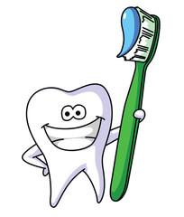 Tooth Brush Mascot