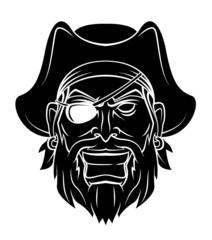 Pirate Warrior vector illustration