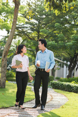 Vietnamese business couple