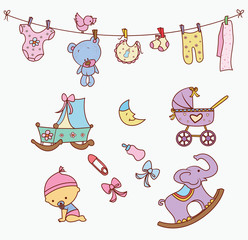 Baby Doodle Object Collection
