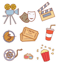 Cinema Attribute Object Collection