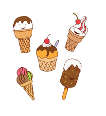 Ice Cream Object Collection