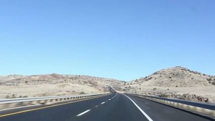 Northbound Arizona, Interstate 17 to Flagstaff
