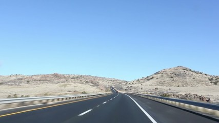Open Highway Arizona Travel