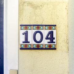 Number 104