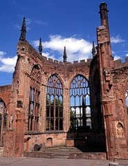 Coventry Cathedral ruins © Arena Photo UK