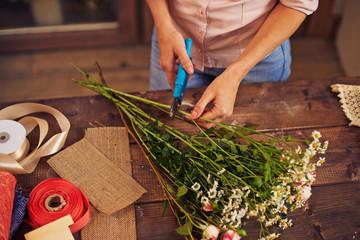 Pruning flowers