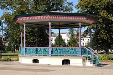 Imperial gardens bandstand, Cheltenham © Arena Photo UK