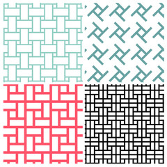 Art of rectangle patterns