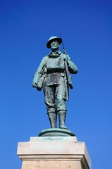 War memorial soldier, Evesham © Arena Photo UK