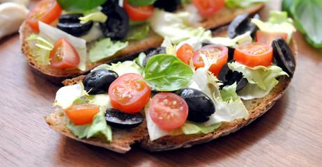 Salat Oliven