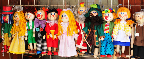 Leinwandbild Motiv Marionette