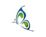 butterfly logo template v.3