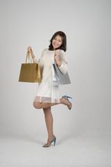쇼핑하는 여자