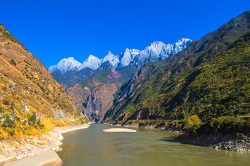 13 mount Himalaya in Lijiang china