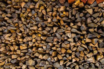Log Wood for constrution Buid