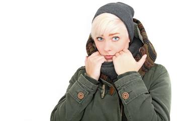 Vor der Kälte schützen