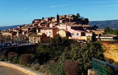 Village Roussillon Provence