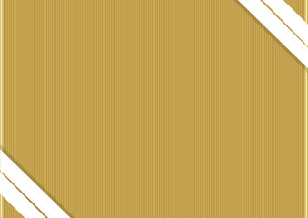 Gold background with white ribbons