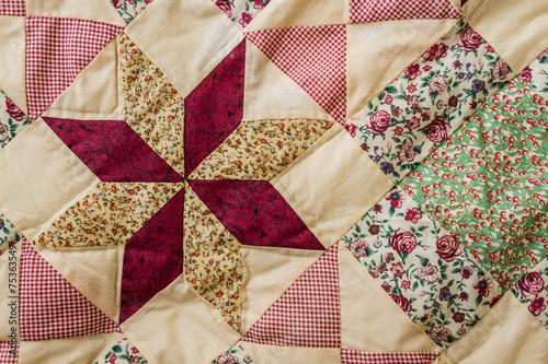 Patchwork Quilt - 75363549