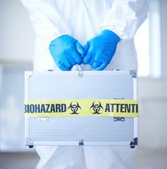 Dangerous suitcase